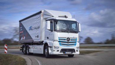 Mercedes-Benz eActros a intrat în flota companiei Logistik Schmitt