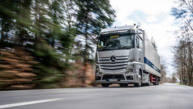 Compania de transport Wagenstetter a testat noul Actros cu Active Drive Assist