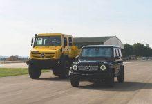 Aniversare pentru Unimog și Clasa G, cele mai dure vehicule de off-road