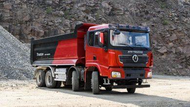 Truston, un camion de șantier asamblat 100% în România
