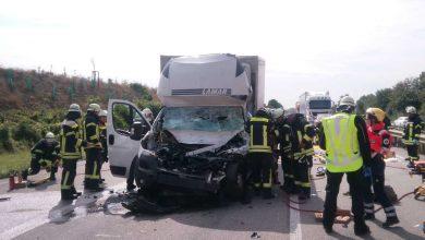 Șoferul unei comerciale ușoare a murit într-un accident pe BAB 61 din cauza lucrărilor