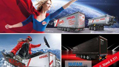 Semiremorcile Kögel Trucker și Cargo Black Edition 2019 expuse la NUFAM 2019