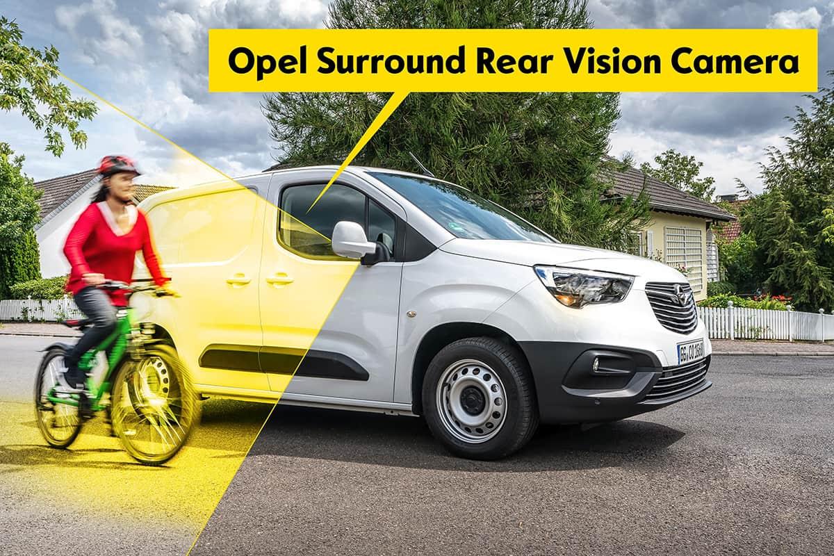 Noul Combo Cargo vine cu Surround Rear Vision pentru protecția pietonilor și bicicliștilor