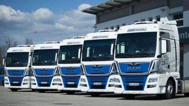 Cinci MAN TGX 18.500 cu cabină XXL au intrat în flota companiei Eurodinamika