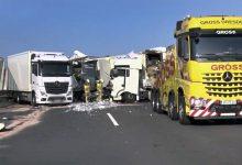 Autostrada A4 din Germania închisă timp de 5 ore din cauza unui accident rutier grav