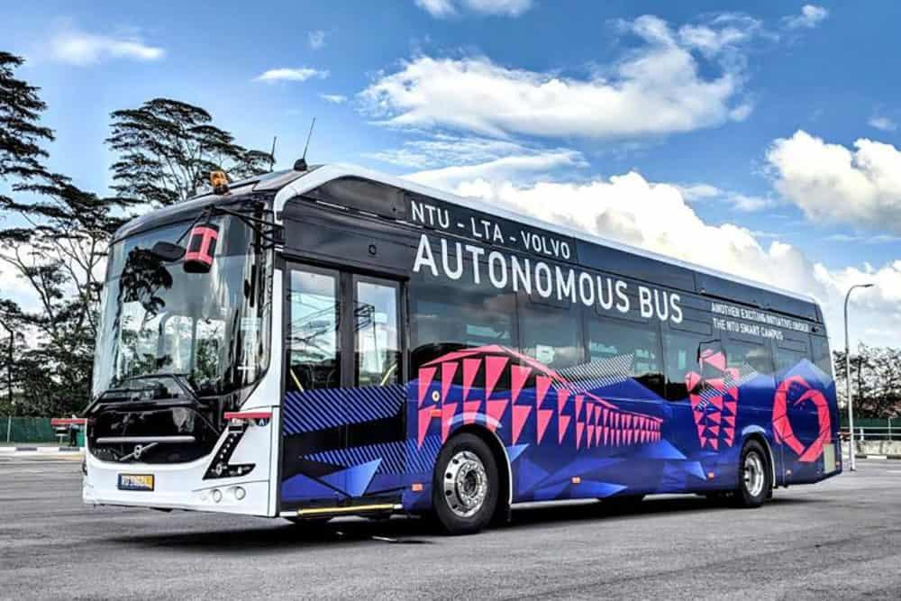 Viitorul transportului public se anunuță a fi unul al autobuzelor autonome