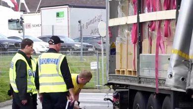 Camion surprins în trafic de poliția din Hamburg circulând cu 140 km/h