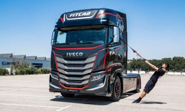 """IVECO Fit Cab, o """"sală de sport"""" pentru șoferii de cursă lungă"""