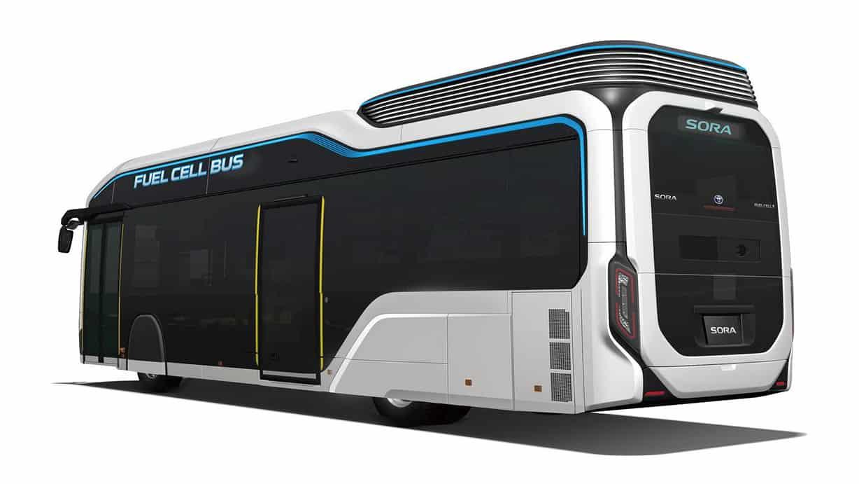 Toyota echipează autobuzul Sora Fuel Cell cu noi sisteme de siguranță