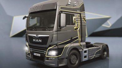 MAN TGX EvoLion, ediția aniversară care marchează 20 de ani de MAN Trucknology