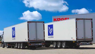 Kühlmann transportă delicatese cu semiremorci frigorifice Kögel Cool – PurFerro quality