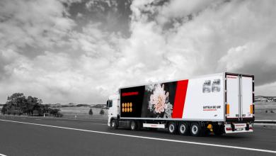 Noua semiremorcă Kässbohrer K.SRI F pentru transportul de flori