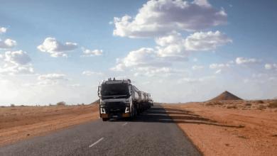 Cu un Volvo FH16 încărcat cu 175 de tone prin Outback-ul australian