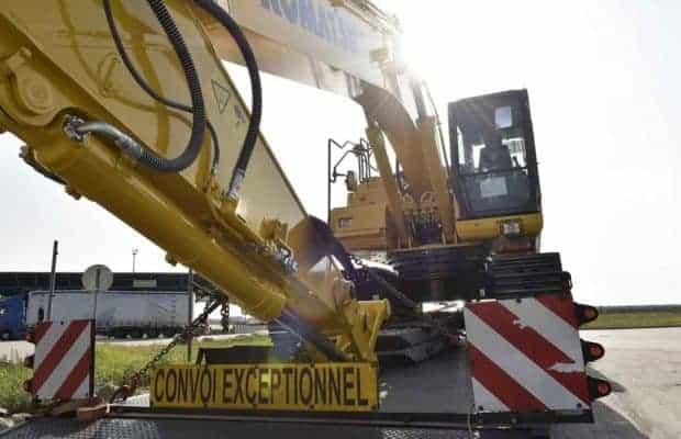 Transport agabaritic oprit de două ori în mai puțin de 24 ore pe autostrada A 1