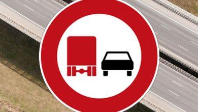 80 de șoferi de camion amendați pentru că au depășit într-o zonă interzisă pe A 8 în Germania