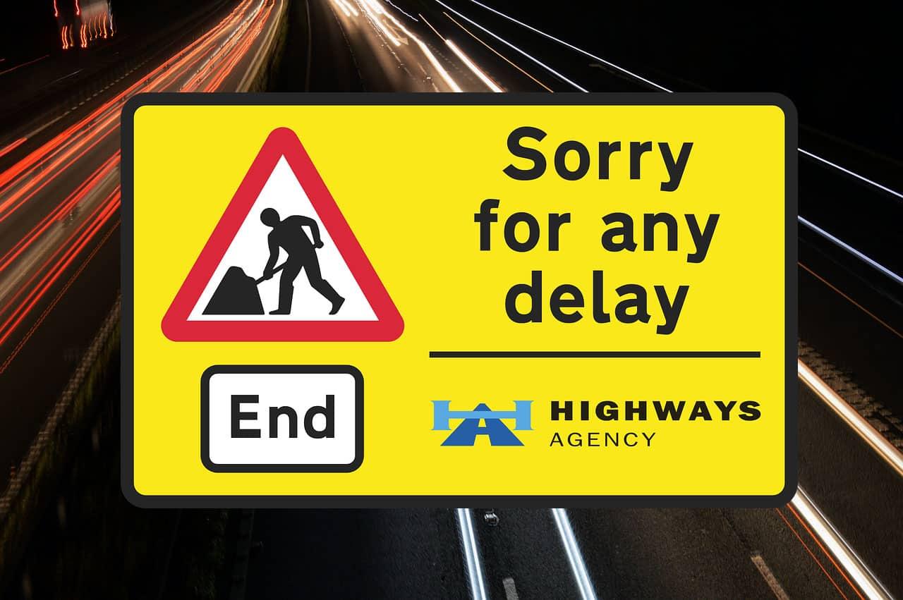 Atenție! Lucrări pe autostrada M6 din Marea Britanie până pe 12 septembrie
