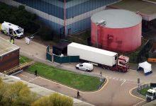 39 de cadavre găsite în semiremorca unui camion în Marea Britanie