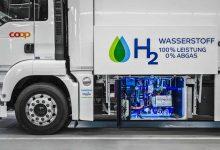 Companiile private din Elveția accelerează implementarea camioanelor cu hidrogen