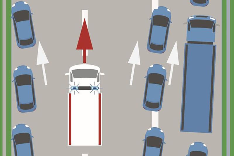 Șoferii vor avea obligația să formeze un culoar unic de salvare în Polonia