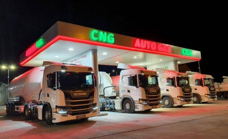 30 de camioane Scania CNG au intrat în flota companiei Darzal Komerc