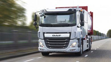 DAF CF Electric este disponibil pe piață și în versiune autoșasiu cu trei axe