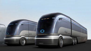 Hyundai HDC-6 Neptune, un camion electric cu hidrogen și design Art Deco