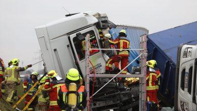Două accidente grave produse pe autostrada A 7 la nord de Hamburg