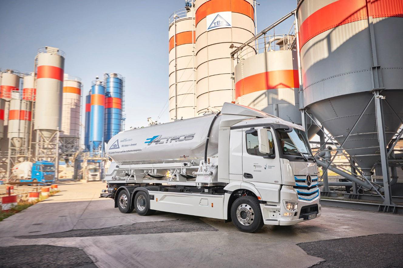 Mercedes-Benz eActros va intra în producția de serie în 2021