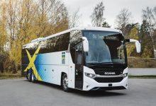 Noul autocar Scania al echipei naționale de schi fond a Suediei