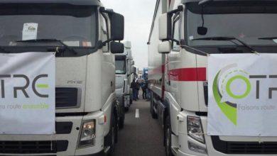 Transportatorii francezi vor organiza baraje pentru blocarea camioanelor străine