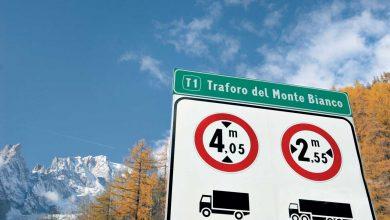 Din 2020, cresc taxele de trecere pentru camioane la tunelul Mont Blanc