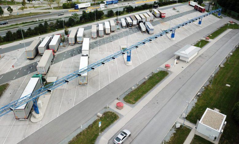 Sistemul inteligent de parcare în coloană a camioanelor de la Inntal West (A 93)