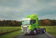 Scania oferă clienților din Danemarca posibilitatea testării unor camioane cu biogaz