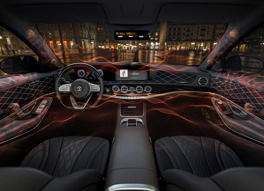 Continental și Sennheiser au prezentat sistemul audio fără boxe pentru vehicul