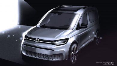 Schițe noi cu viitoarea generație Volkswagen Caddy