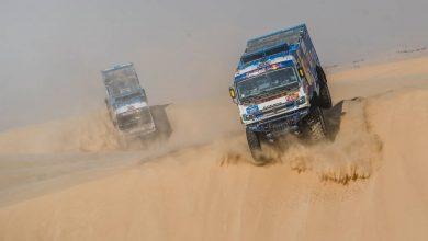 O nouă triplă pentru echipa Kamaz-Master la Dakar Rally 2020