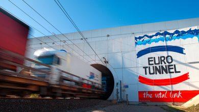 1.6 milioane de camioane au utilizat tunelul de sub Canalul Mânecii în 2019