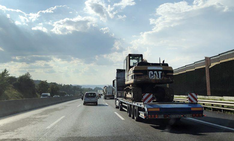 Modificările la Codul Rutier german (StVO) pot afecta transportul agabaritic