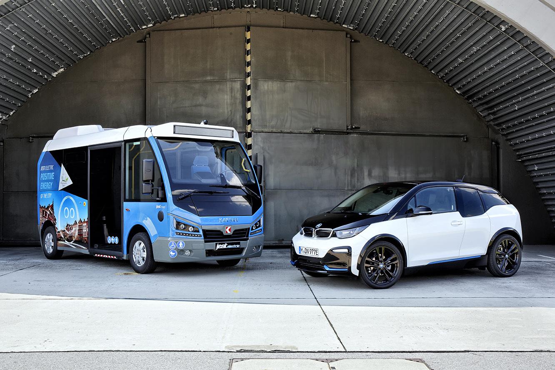 100 de ani de istorie între marca BMW şi mijloacele de transport în comun