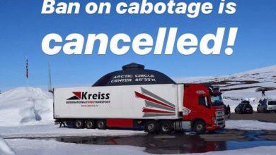 Kreiss poate relua operațiunile de cabotaj și transport combinat în Norvegia