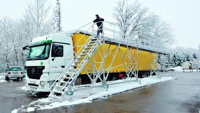 Nu pleca la drum înainte să cureți zăpadă și gheață de pe camion