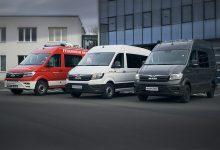 500 de modele MAN TGE modificate la Bus Modification Center din Plauen