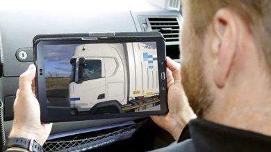Poliția germană continuă acțiunile de monitorizare video a șoferilor de camion