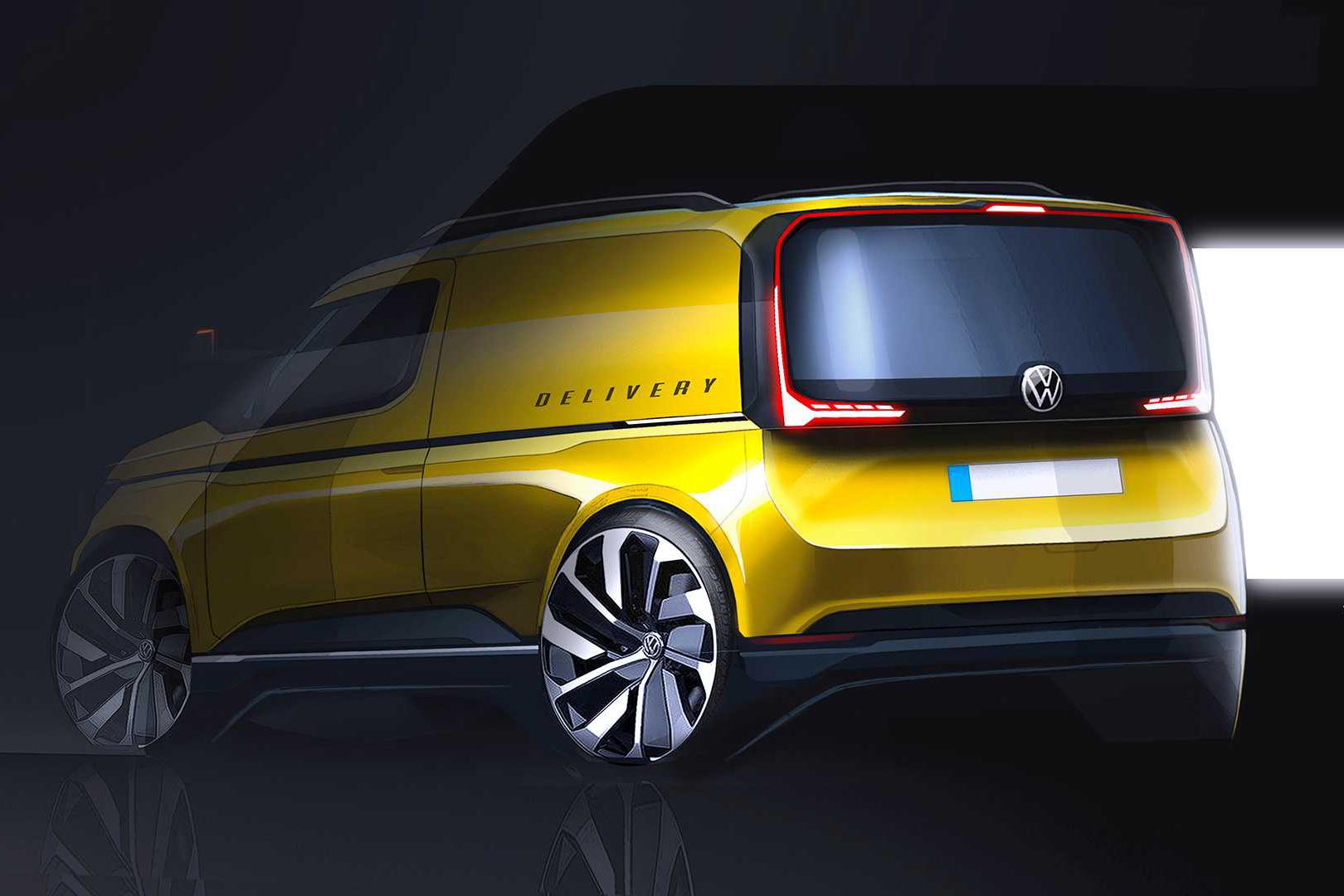 Volkswagen a făcut publice primele schițe cu noua generație Caddy