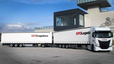 XPO Logistics testează în Spania sistemul de transport Duo trailer