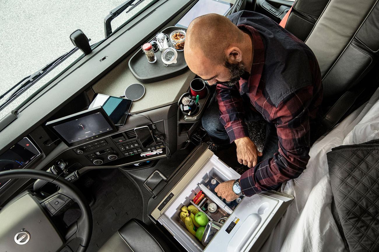 Noul Volvo FH a fost dezvoltat având în prim plan nevoilor șoferului