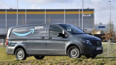 Zece utilitare Mercedes-Benz eVito au intrat în flota Amazon din Munchen