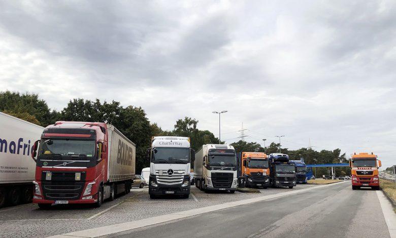 Germania are nevoie de mininum 23.347 de noi locuri de parcare pentru camioane