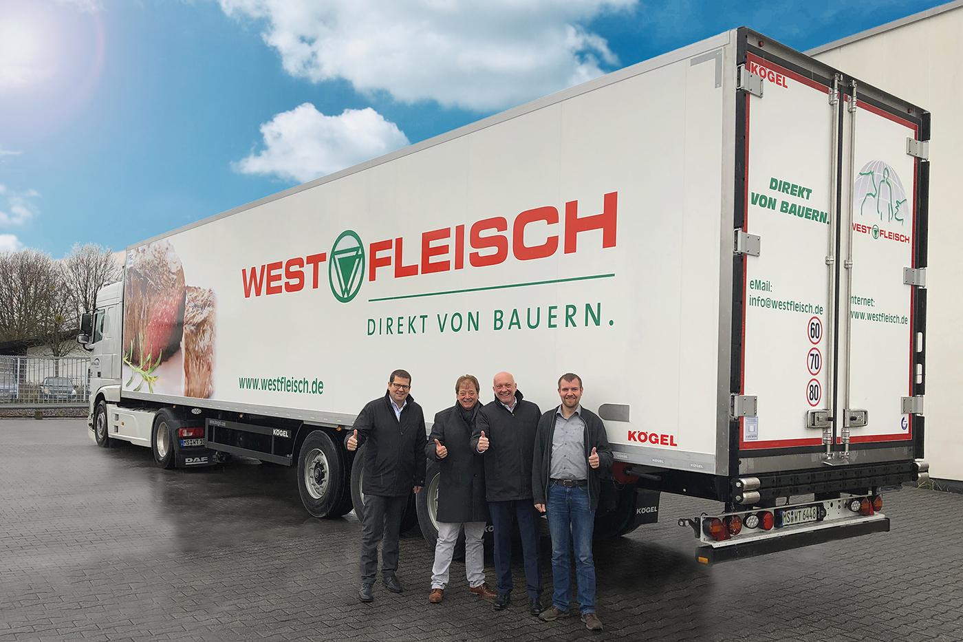 WETRALOG și-a extins flota cu 15 semiremorci frigorifice Kögel Cool