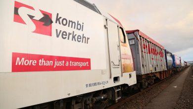 În 2019, Kombiverkehr KG a transportat peste 880.000 de camioane pe calea ferată